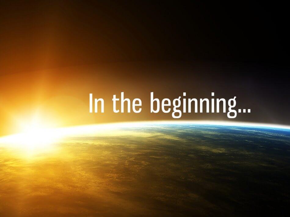 the beginning of -#main