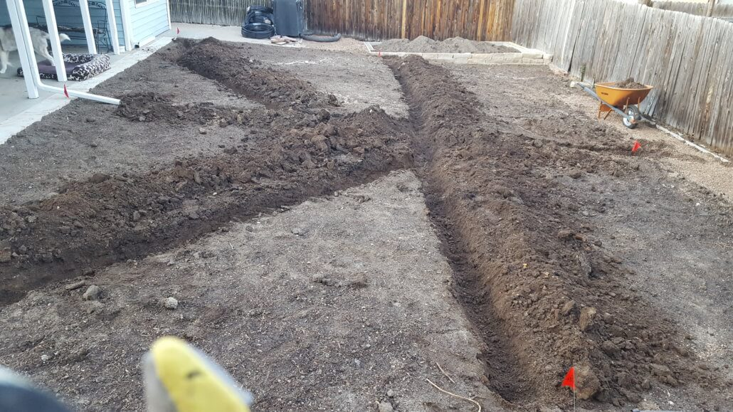 The trenches are dug!