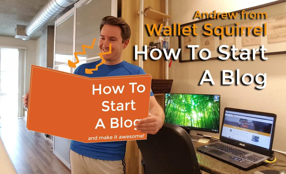 How To Start A Blog Header Image