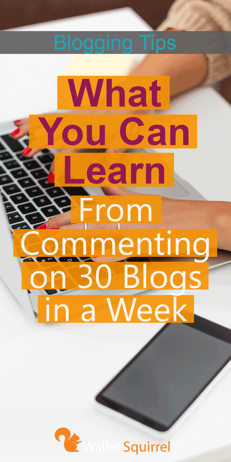 Wondering if commenting on blogs is worth the time? Here is what we learned when we commented 30 blogs through out the week.