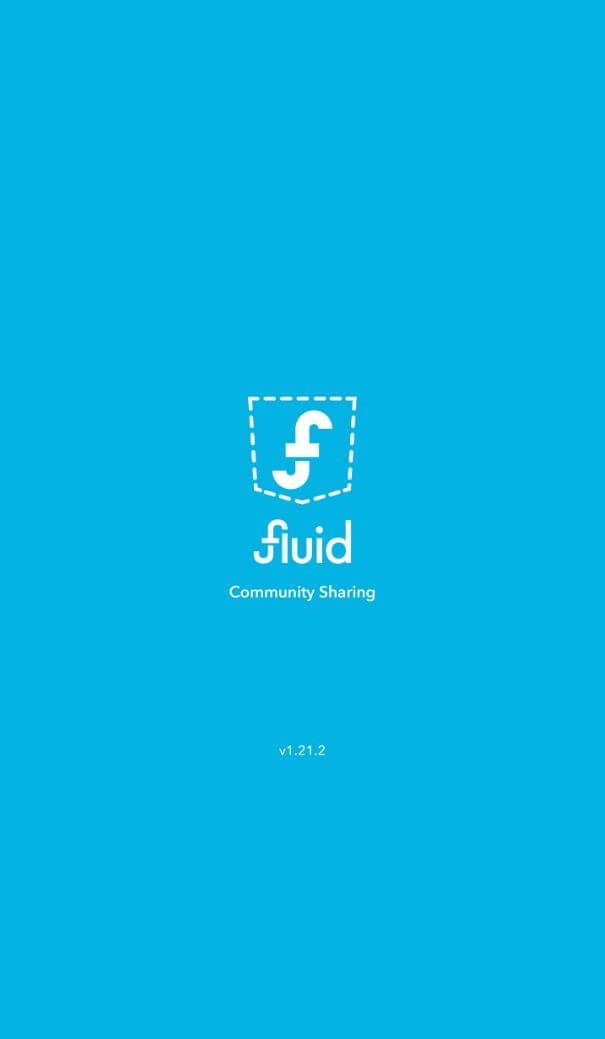 Fluid App Review - Loading Screen