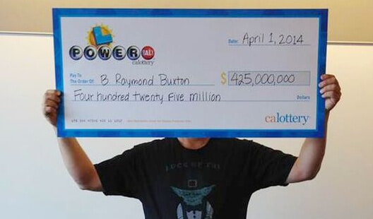 What To Do If You Win The Lottery - Cover Your Face