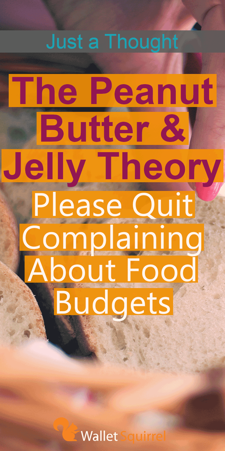 Looking to save money on monthly budget? Here is the Peanut Butter & Jelly Theory that is a quick thought on how you can save money on quick recipes for your family. #budget #savemoney #personalfinance
