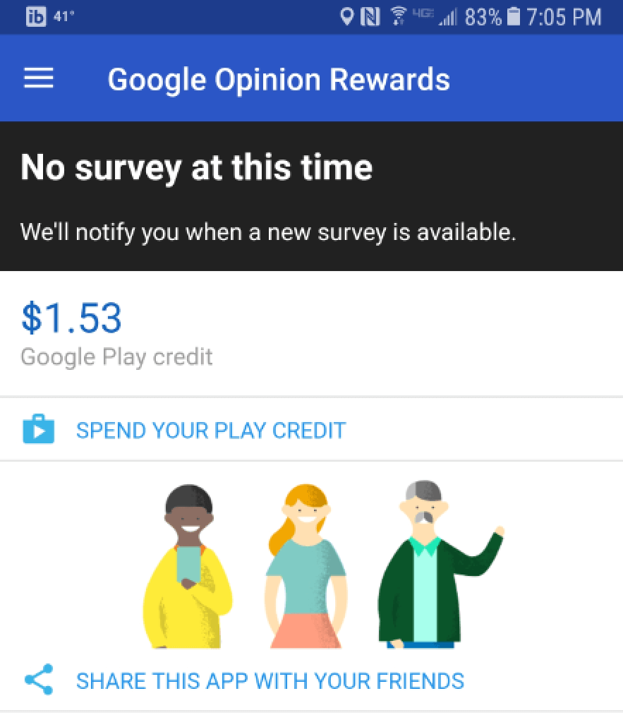 how often does google opinion rewards send surveys google opinion rewards earn very little money in 30 2701