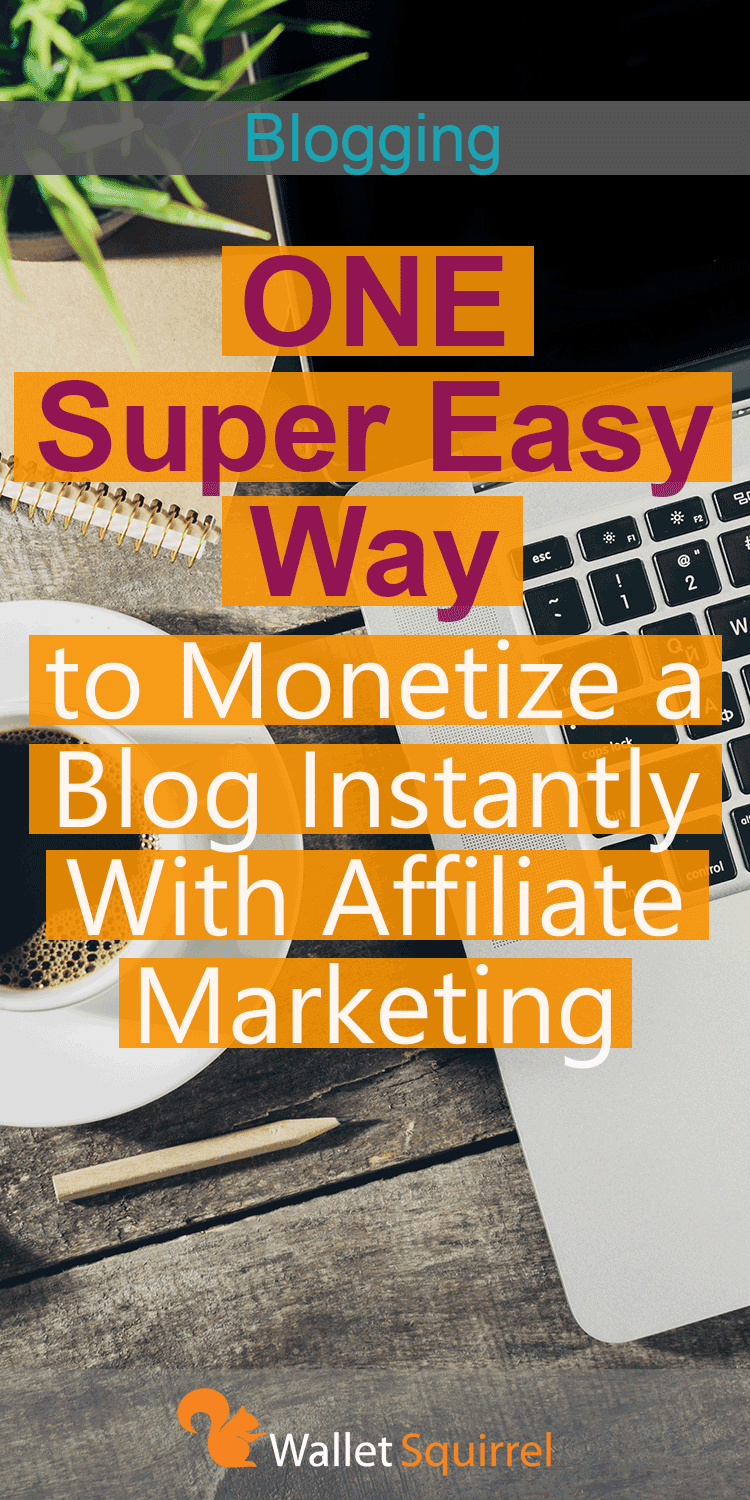 Having troubles monetizing your blog? We have the solution! Here is the simplest way to monetize your blog. #blog #bloggingtips #affiliatemarketing