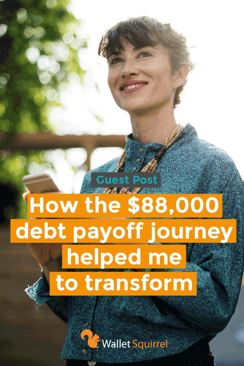 Debt Payoff Journey Vertical Header