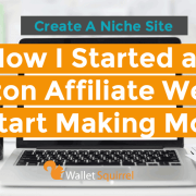 How To Start A Amazon Affiliate Website Header
