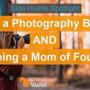 Horizontal Side Hustle photography business