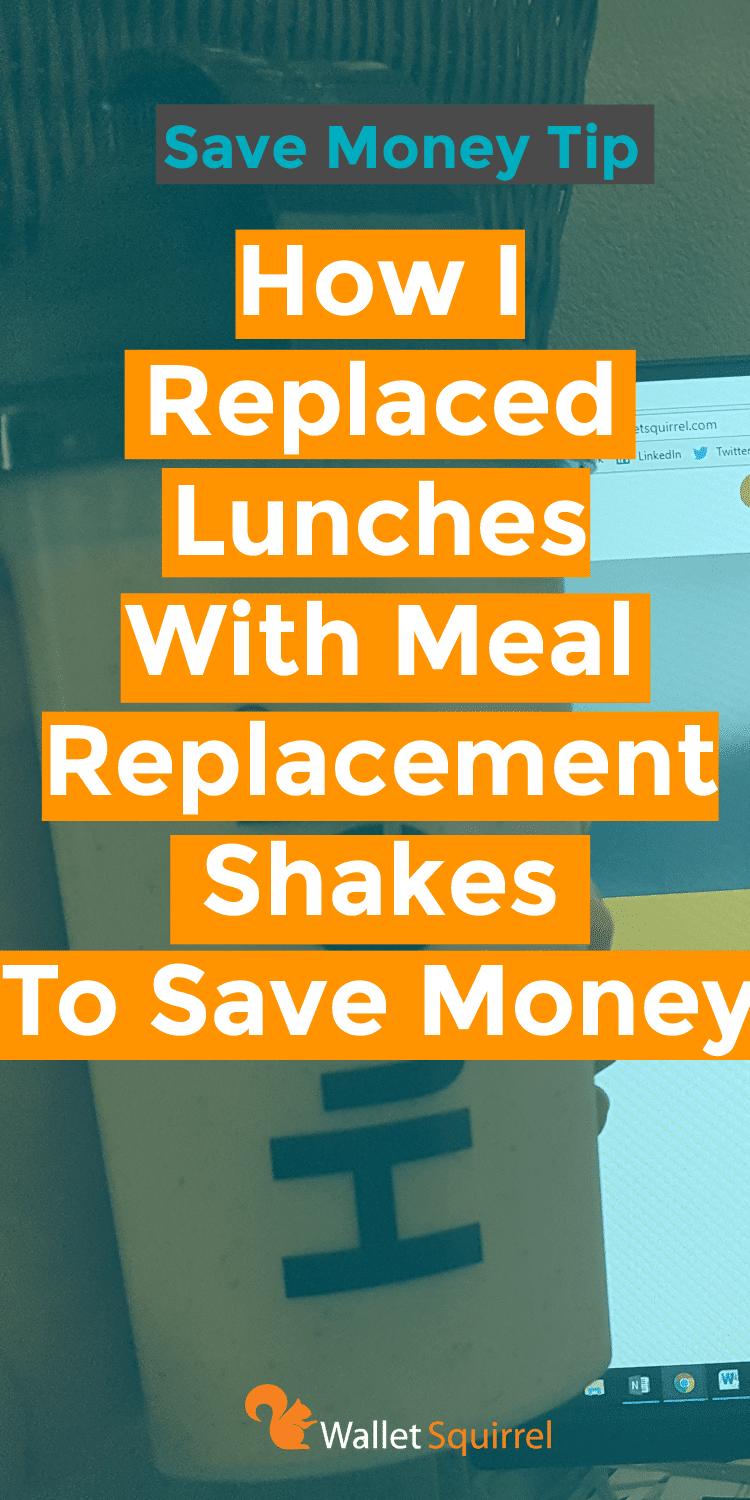 Looking to save some money on food? Andrew checked out the meal replacement shakes by Huel. Read his review to see what he thought. #savemoney #personalfinance #healthyeating