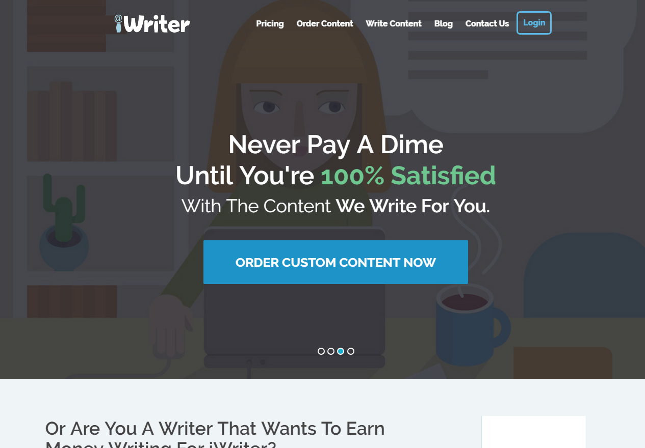 Get Paid To Write on iWriter - Websites That Pay You For Writing