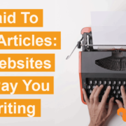 get paid to write articles 1