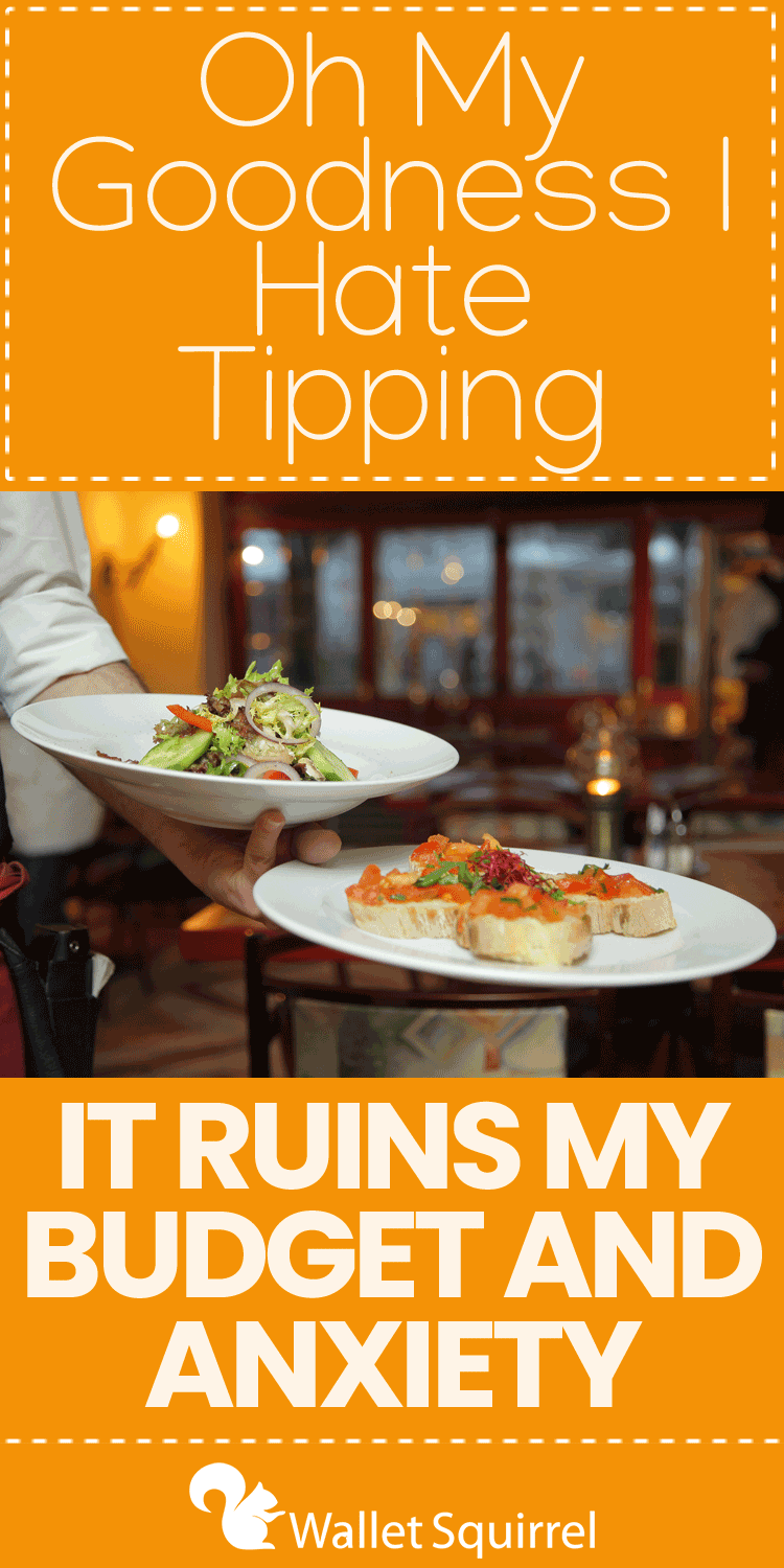 Let me preface that I used to be a waiter so I understand the value of tipping, but as a customer, tipping is the worst! It's psychological warfare at the end of every meal that results in either anxiety that you haven't paid enough or havoc on your wallet for paying too much. #opinion #personalfinance
