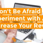 Experiment with Ad Revenue Horizontal Header
