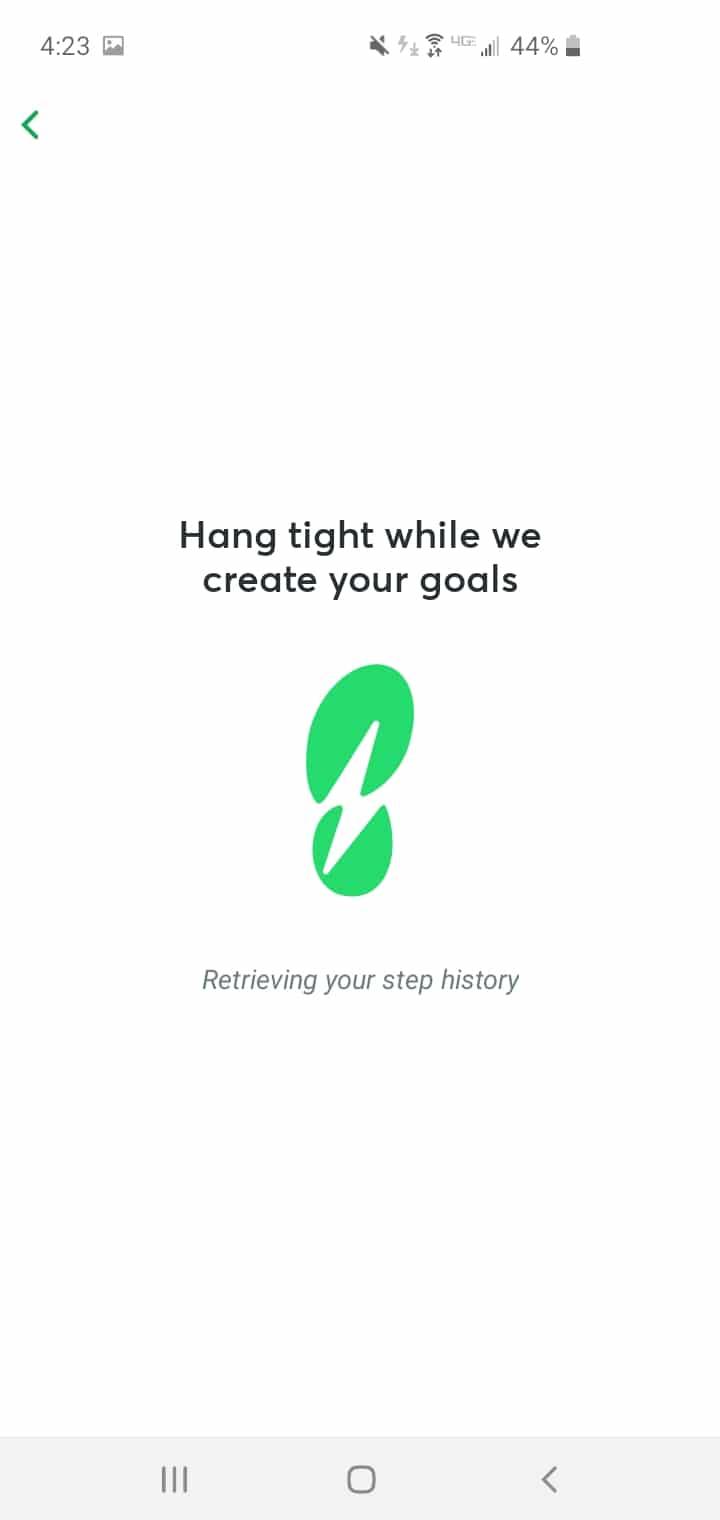 StepBet Review Creating Goals