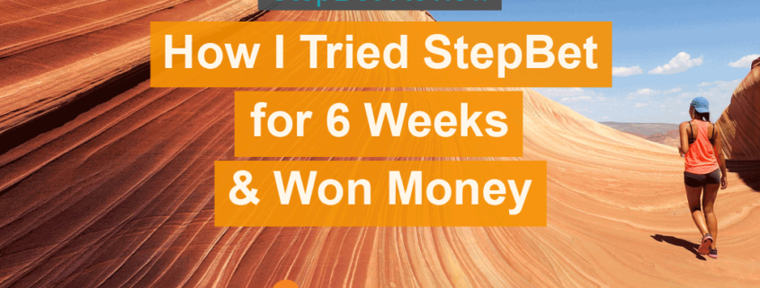A full Stepbet Review to see how much you can earn by just walking.