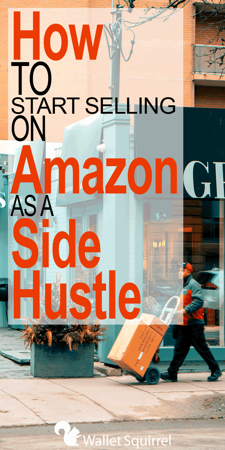 Looking for a new side hustle? Today's sponsored post runs us through how to start selling on Amazon as a side hustle. #amazon #sidehustle #earnmoremoney #financialfreedom