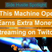 How this machine operator earns extra money streaming on Twitch.