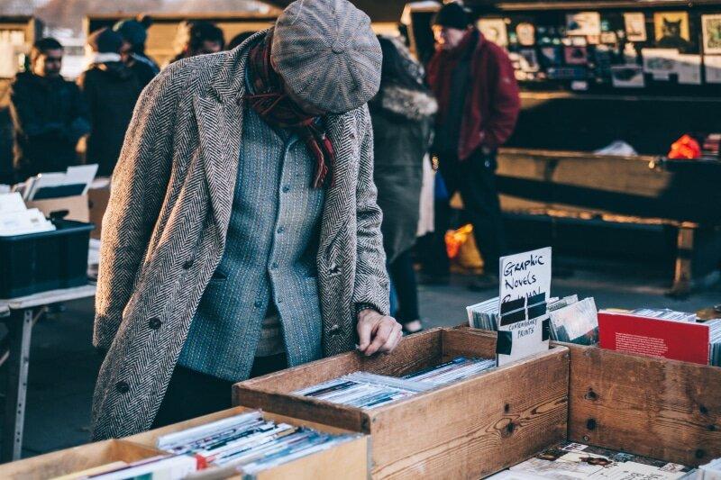 Yard Sale Browsing1