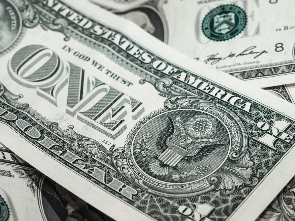 Facts about money and the one dollar bill.