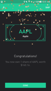 Robinhood App Review - Free Share of Apple (AAPL) Stock on Sign Up