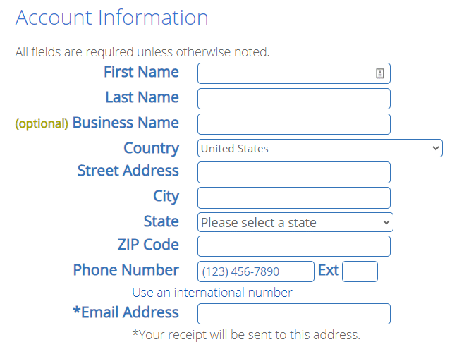 Bluehost Account Info 2020.9.18