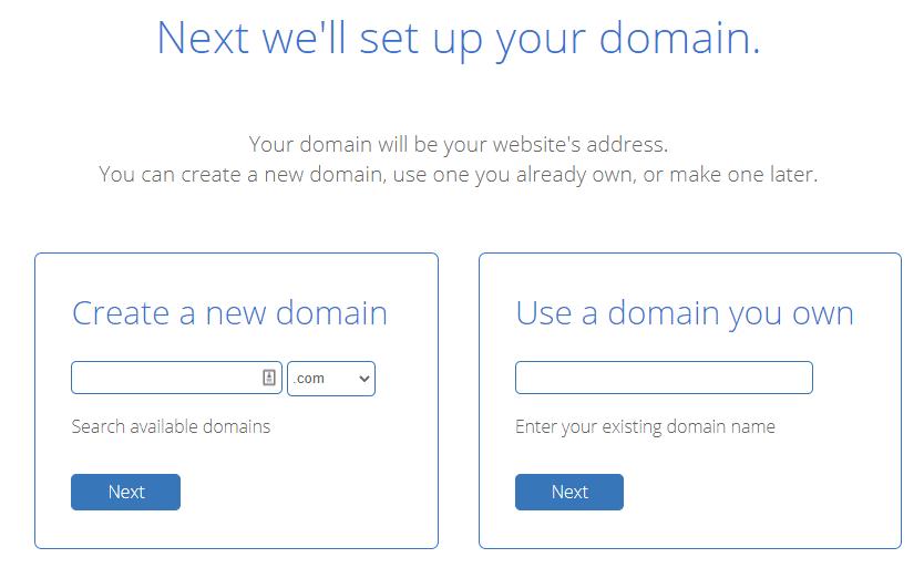 Bluehost Domain Choice 2020.9.18