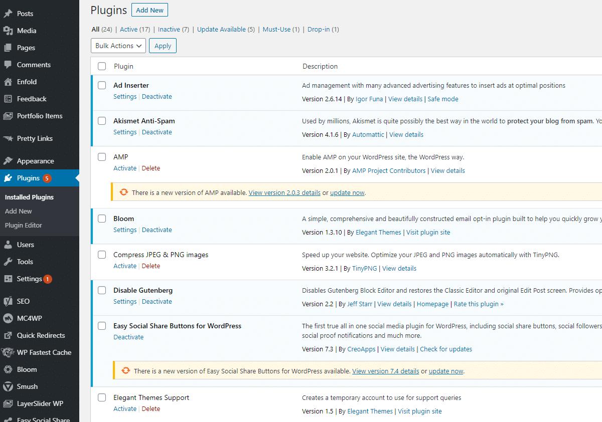 Bluehost Plugins 2020.9.18