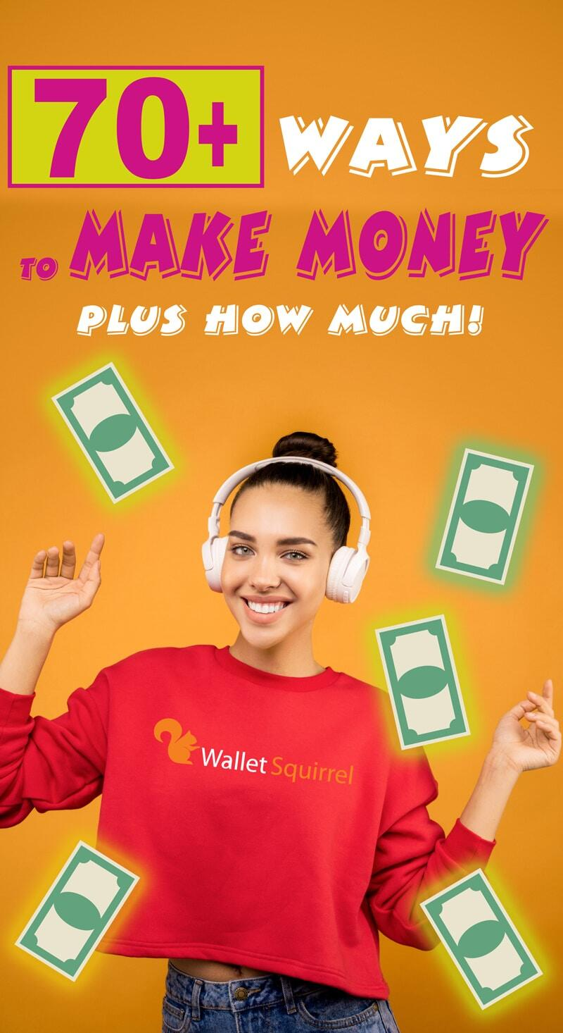 Qui n'aime pas gagner plus d'argent? Vous ne savez pas par où commencer avec votre prochaine activité secondaire? Nous avons compilé une liste massive de plus de 70 façons de gagner plus d'argent. Si vous êtes prêt à commencer, voici le point de départ. #sidehustle #earnmoremoney #personalfinance