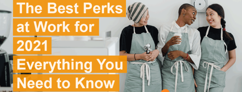 Most of us have to work a day job. We have bills to pay and mouths to feed. But that doesn't mean we have to take whatever they offer us. Many companies offer incredible perks and benefits that help take the sting out of working.