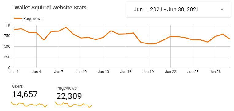WS Website Traffic - June 2021